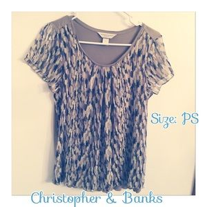 Beautiful flowy short sleeve top from C&B